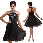 Elegant Bridesmaid Cocktail Ballgown Formal Homecoming Proms Party Evening Dress