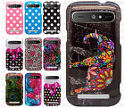 Boost Mobile ZTE Warp Sync N9515 HARD Protector Case Phone Cover + Screen Guard