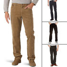 New Men's Wrangler Texas Stretch Cords Regular Fit Corduroy Jeans Trousers Pants