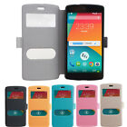 Flip Leather Wallet cellphone Case Cover  for LG Google Nexus 5