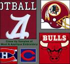 "Choose Your NFL Team 12"" x 18"" Embroidered Wool Traditions Banner Flag"