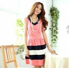 Sexy Women Summer Fashion Chiffon Casual Short Mini Evening Cocktail Party Dress