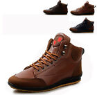 Manly Mens Comfort Leisure Winter Lace Up Sneakers Ankle Boots Flats Shoes CA WB