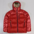 Patagonia Men's Fitz Roy Down Parka Water Resistant Coat Jacket Cochineal Red