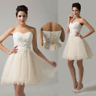 ❤Sweetheart❤ Short Homecoming Bridesmaid Evening Cocktail Prom Party Dresses
