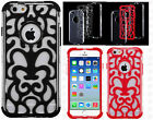 For Apple iPhone 6 4.7 Vine Hybrid Dual Layered Skin Case Phone Cover