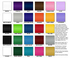 "12x12"" Adhesive Backed Craft Vinyl Sheet (hobby/sign cutter) Choice of 27 Colors"