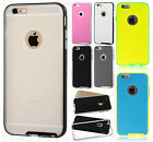 Apple iPhone 6 Plus 5.5 PREMIUM TEXTURED TPU Hard Skin Case + Screen Protector