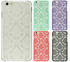 For Apple iPhone 6 6S Plus TPU LACE GUMMY Hard Skin Case Phone Cover