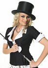 Top Hat Collapsible Dancers Magician Hat Topper Recital Hat 1007