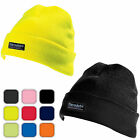 Yoko Thinsulate Beanie/Hat (walking/hiking/work/cycling/run/Hi Vis/Black/Yellow)