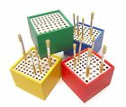 MAJOR BRUSHES PLASTIC BRUSH HOLDER HOLDS UP TO 64 BRUSHES SCHOOL CRAFT ARTIST