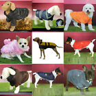 Warm Pet Dog Coat Fleece Jacket Jumper Sweater Hoodie Winter Protector Outfit