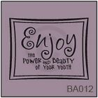 Enjoy the Power and Beauty of Your Youth Vinyl Wall/Car Decal