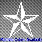 Custom Nautical Star Style Vinyl Sticker Decal Multiple Colors/Sizes Star106