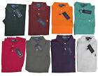 Ralph Lauren Mens Custom Fit Mesh Short Sleeve Pony Logo Casual Polo Rugby Shirt