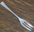hand stamped silver plate upcycled CAKE FORKS
