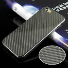 Deluxe Real Aluminum Frame+Carbon Fiber Back Metallic Case For Apple iPhone 6 6S