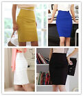 High Quality Womens Fitted  Slim High Waist Office Pencil Skirt 055  WB
