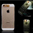 New Sense Flash up Light LED Cover Clear Hard back Case For Apple iPhone 5 5S