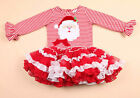 Toddlers Baby Girls Princess Lace Christmas Party Kids tutu Dress Skirt age 2-6T
