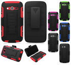 T-Mobile Samsung Galaxy Avant G386T COMBO Belt Clip Holster Case Cover Kickstand