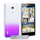 Yousave Accessories For Huawei Ascend G740 Clear Hard Rain Drop Case Cover UK
