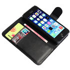 Flip Leather Case Wallet Cover For Apple iPhone 4 5 5S Free Screen Protector on Rummage