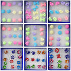 New Wholesale 6 Pairs Charm Earrings Stud Ear Candy Colors Cute Ear Studs  New