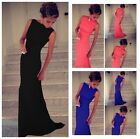 Ladies Prom Ball Cocktail Party Long Dress Slim Fit Maxi Formal Evening Gown #LJ
