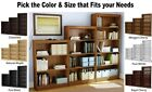 3, 4, 5 Shelf Bookcases Bookshelf Book Case Shelves Bookshelves Bookcase CHOICES