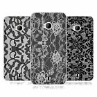 HEAD CASE BLACK LACE GEL BACK CASE COVER FOR HTC ONE