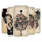 HEAD CASE INTROSPECTION GEL BACK CASE COVER FOR HTC ONE