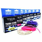 NEW! MAP TKS Twin Core Hollow Pole Elastic - Various Sizes & Colours.