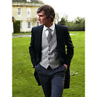 Brook Taverner - The Morning Suit Jacket - A Classic From Pure Wool in Black