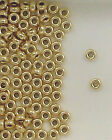 14K Gold Filled Beads, 3mm Plain Flat Beads, New