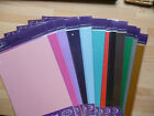5 x A4 sheets quality pearlescent card  310 gsm - 23 colours