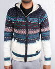 Mens Christmas Cardigan Knitted Full Zip Xmas Holiday Hooded Jumper Soul Star