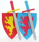 Children's Knights Soft Foam Battle Shield and Sword Role play Kids Dress up toy