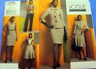 Vogue Wardrobe Pattern #1068 Misses Jacket Top Dress Skirt Pants 6-20 FF UNCUT