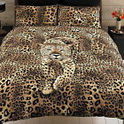 Prowling Leopard Animal Skin Print Easycare Duvet/Quilt Cover and Pillowcases