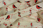 Reel Chic Ribbon Christmas Robin & Stocking Grosgrain19mm Wide RC03-01