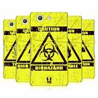 HEAD CASE DESIGNS HAZARD SYMBOLS CASE COVER FOR SONY XPERIA Z3 COMPACT D5803