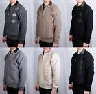Mens Cardigan Knitted Zip Jumper Heritage Funnel Neck Warm Winter Casual Top