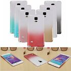 Gradient Brushed Hard PC Thin Back Case Cover Shell for Samsung Galaxy Note 4