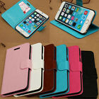Crazy Horse Pattern Magnetic Flip PU Leather Case Cover Stand for Iphone 6 4.7""