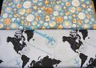 RILEY BLAKE DETOUR FABRIC COLLECTION~2 DESIGNS~U-PICK~BTY~MAPS~GLOBES~TRAVEL~OOP