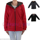 Womens Lady Winter Casual Warm Thick Cotton Hooded Hoodie Coat Outwear