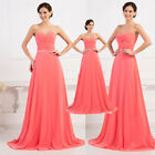 FREE SUMMER LONG Bridesmaid Maxi Dresses Evening Cocktail PARTY Prom Ball Gowns