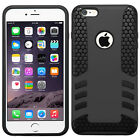 Apple iPhone 6 6S Plus Rocket HYBRID HARD Protector Case Rubber Cover Accessory